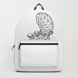 Geometric Prickly Pear Cactus III Backpack