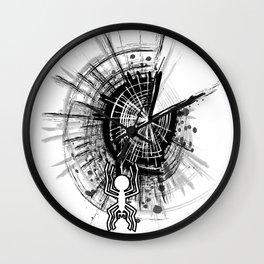 Nazca spider Wall Clock