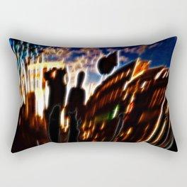 Lets watch this City burn Rectangular Pillow