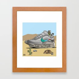 """air"" 4 Framed Art Print"