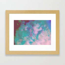 Abstract Motion Framed Art Print
