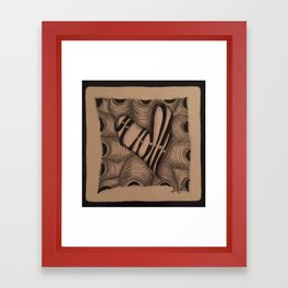 Delicious Framed Art Print