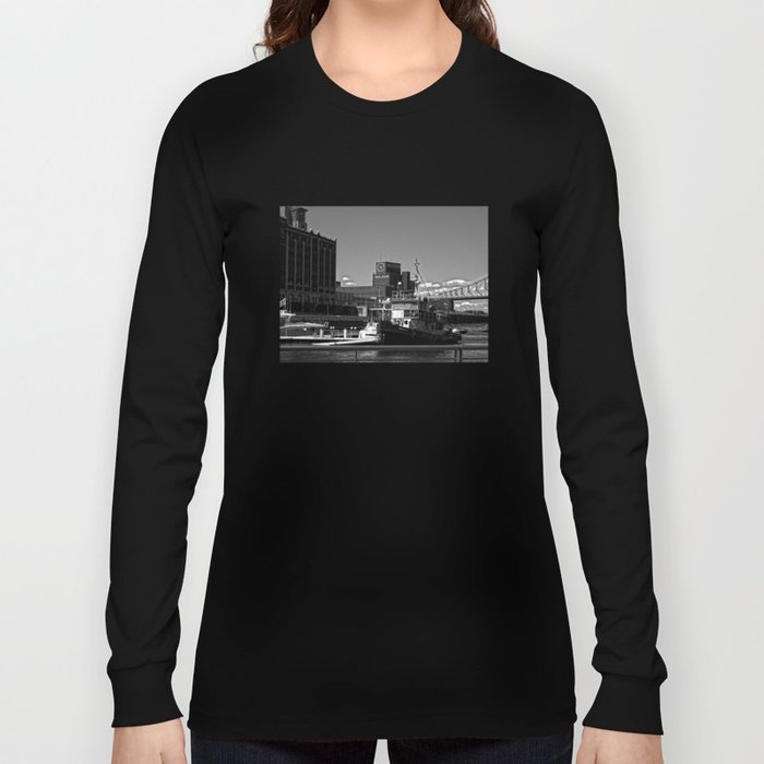 Old Port Montreal Long Sleeve T-shirt