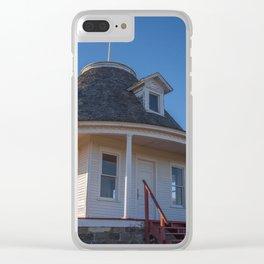 Hurd Round House, Wells County, North Dakota 16 Clear iPhone Case