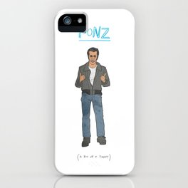 The Fonz iPhone Case
