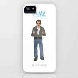 The Fonz iPhone Case