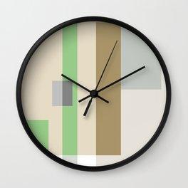 Color Harmony Green Wall Clock