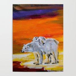 Polar Bears Surviving Poster