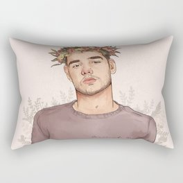 Flower crown Liam Rectangular Pillow