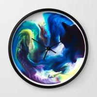 dragon ball Wall Clocks featuring Ball by Chimisay