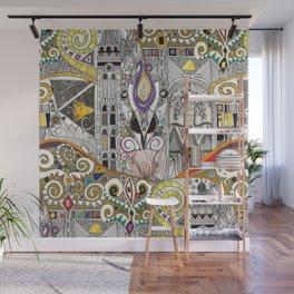 nouveau elemental Wall Mural