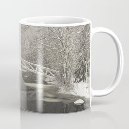 Snow Storm In Somesville, Mount Desert Island Maine Photograph Coffee Mug