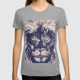 Lion with Cross T-shirt
