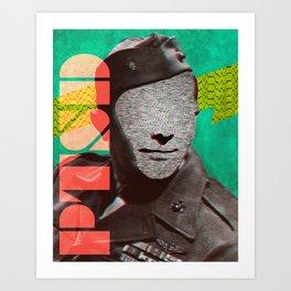 PTSD Art Print