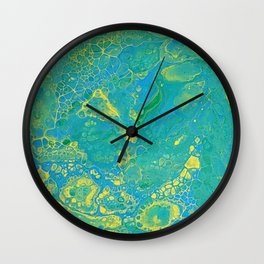 Lilly Pond 1 Wall Clock
