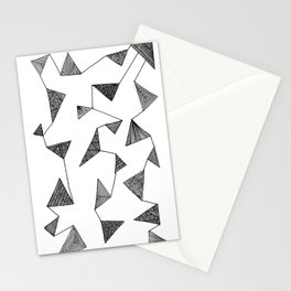 Triangle Barf Stationery Cards