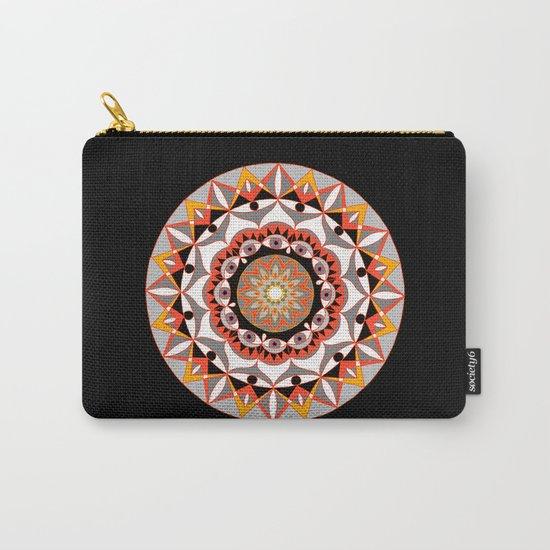 My Solar Plexus Mandhala | Secret Geometry | Energy Symbols Carry-All Pouch