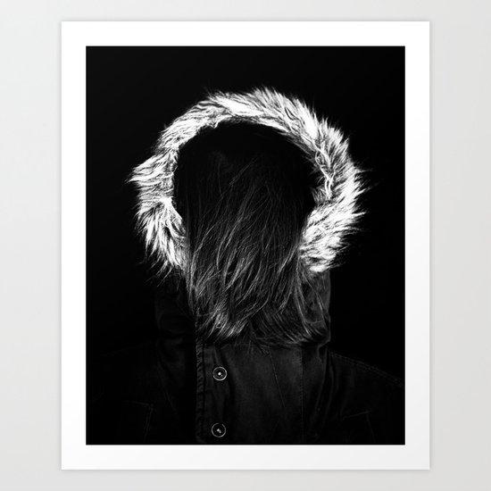 Around the fur. Art Print