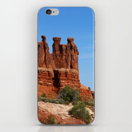 Three Gossips Arches National Park iPhone Skin