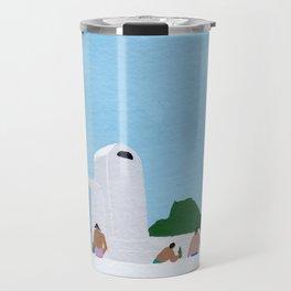 Santorini Travel Mug