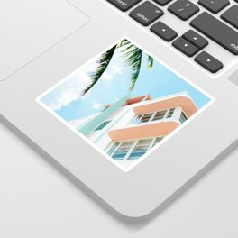 Miami Fresh Summer Day Sticker