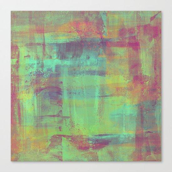 Humility - Mixed Colour Abstract Canvas Print