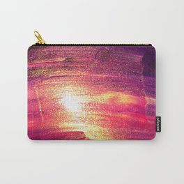 Gold & Purple Paint Carry-All Pouch