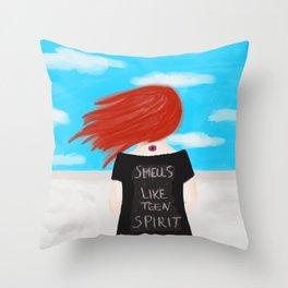 Smells Like Teen Spirit Throw Pillow