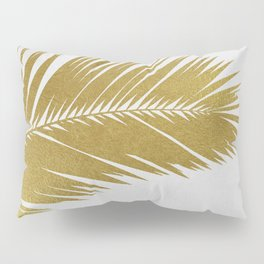 Palm Leaf Gold I Pillow Sham