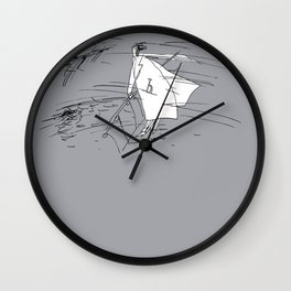 Jazz Wind Tunes Wall Clock
