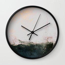 abstract smoke wall painting Wall Clock