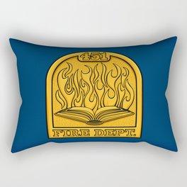 Fire Department 451 Rectangular Pillow