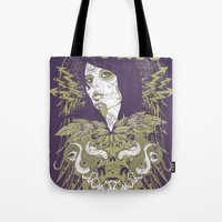 occult Tote Bags featuring Occult beauty by Tshirt-Factory