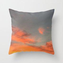 Fireskies Throw Pillow