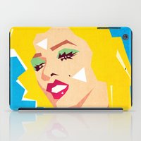 pop art iPad Cases featuring pop art  by mark ashkenazi