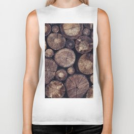 The Wood Holds Many Spirits // You Can Ask Them Now Edit Biker Tank