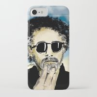 tim burton iPhone & iPod Cases featuring Tim Burton by Joanie L. Posner (jppozzy)