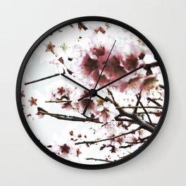 Sakura X Wall Clock