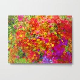 Potpourri of flowers Metal Print