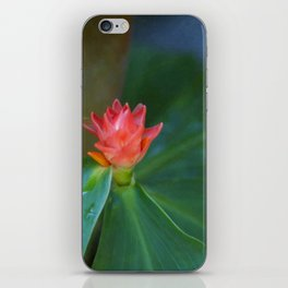 Floral Print 085 iPhone Skin