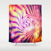 candy Shower Curtains featuring Candy  by CLE.ArT.