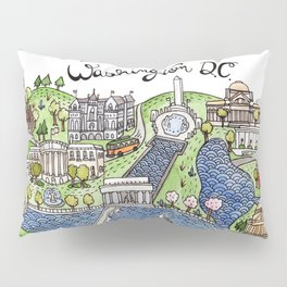 Washington DC Pillow Sham