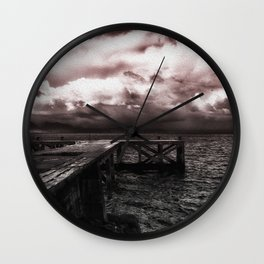 The Oncoming Storm Wall Clock