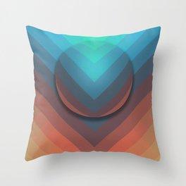 Surface To Swim Throw Pillow