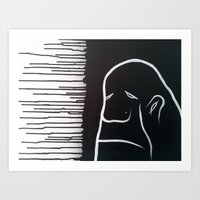 grumpy Art Prints featuring Grumpy by 1989