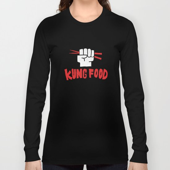 KUNG FOOD Long Sleeve T-shirt