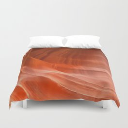Waves in Antelope Canyon Duvet Cover