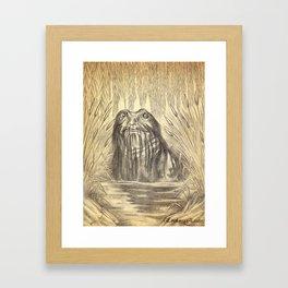 Wodnik Framed Art Print
