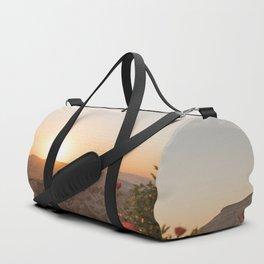 Sunset Over Rose Valley, Cappadocia Duffle Bag