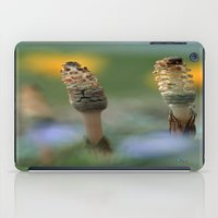guardians iPad Cases featuring The Guardians by Robin Curtiss